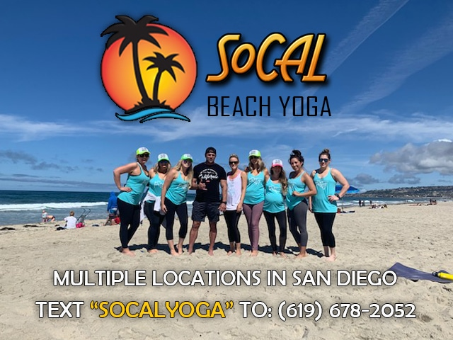 socal beach yoga