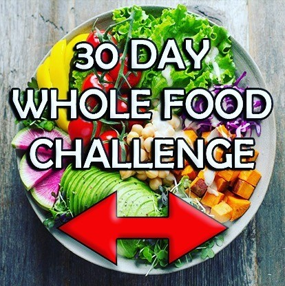 After holiday clean eating with my new 30 Day Whole Food Challenge. Try out these recipes or just buy the plan