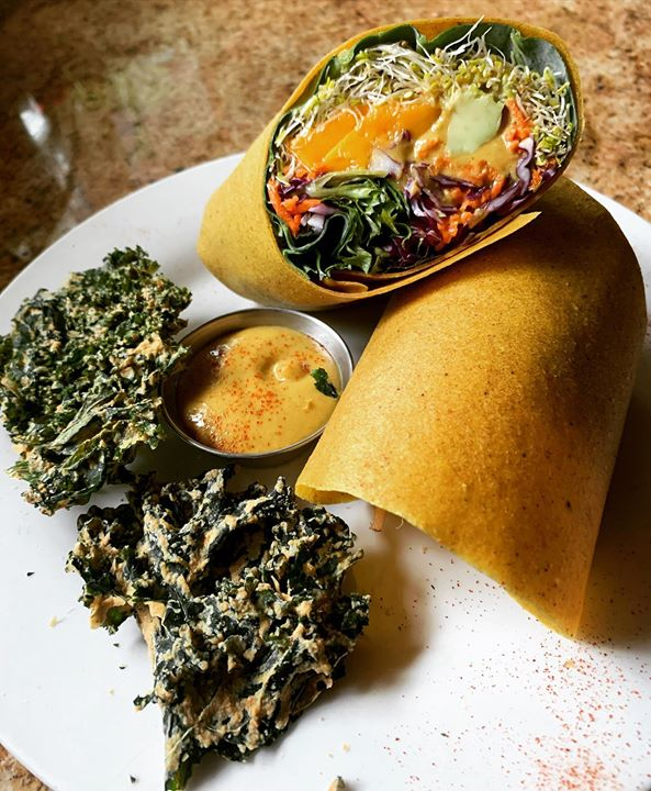 Yummy eats here – gotta try this place out. Found a new vegan hot spot – funky foods that taste